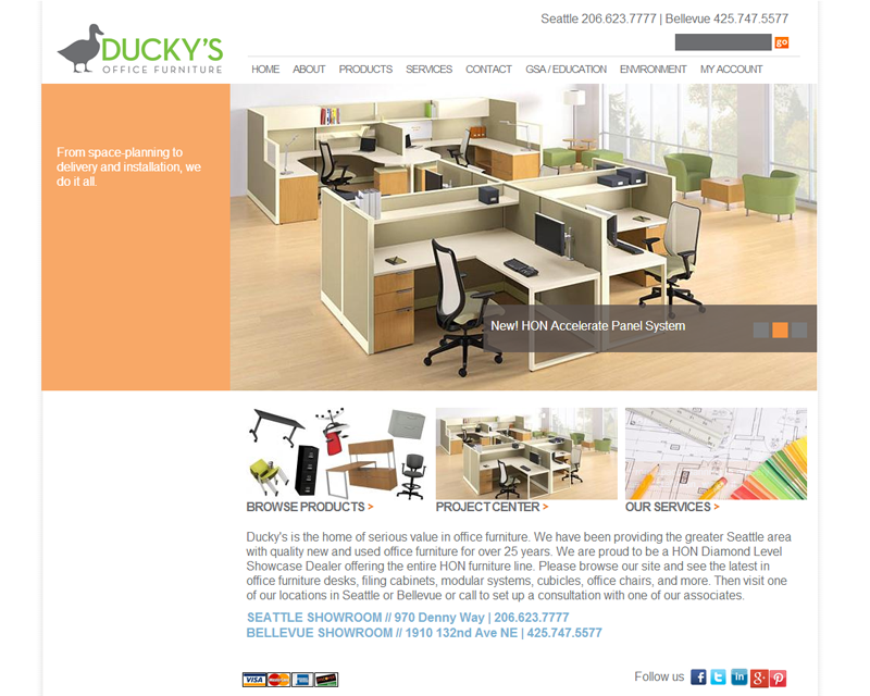Ducky 39 S Office Furniture Jlb Web Consulting